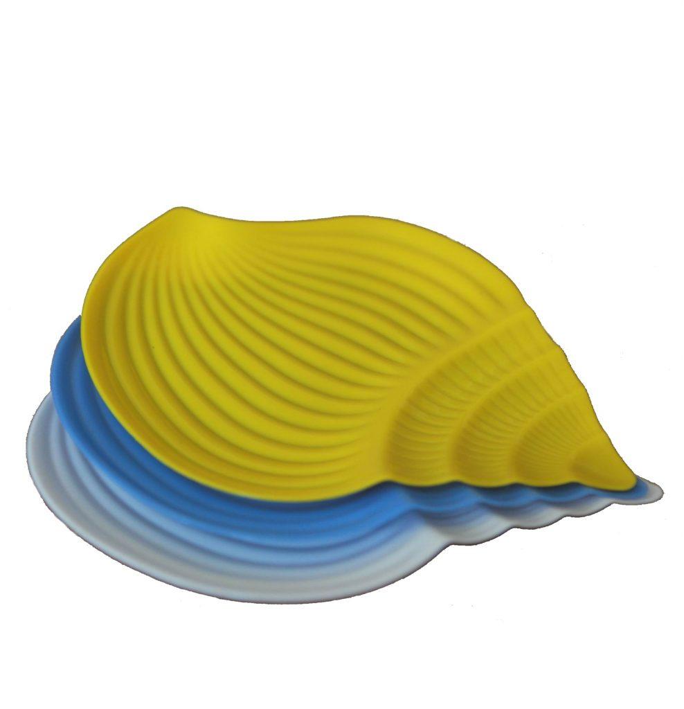 Пластмасова чиния Охлюв голяма Него ООД