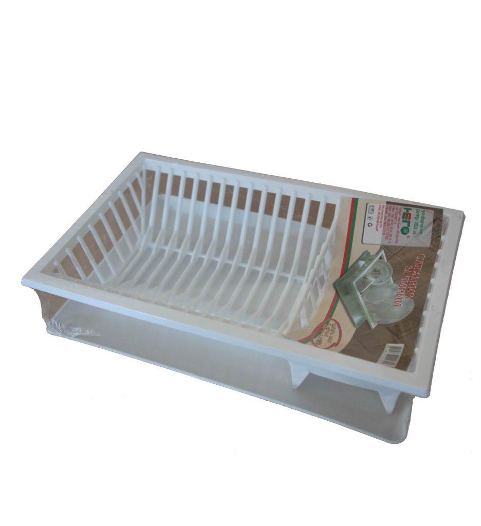 Сушоар за чинии пластмасов +табла Него ООД